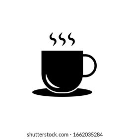 coffee cup isolated. coffee cup symbol. vector EPS10