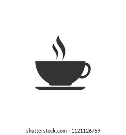 coffee cup  on a white background.Used in printing and web.dink.logo design