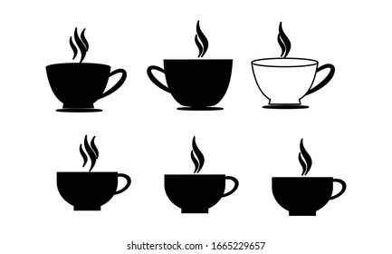 Coffee cup sign icon vector ilustration