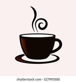 vector de stock libre de regalias sobre coffee cup vector icon527993500 shutterstock