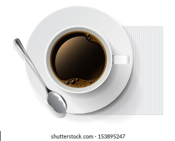 Coffee cup. Vector illustration