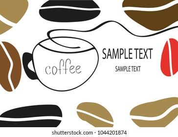 coffee cupboard sign