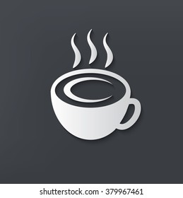 Coffee design on clean background,vector