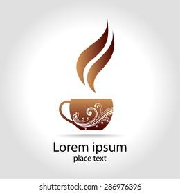 Coffee - design template logo