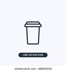 Coffee  Espresso  Starbucks Cup Vector Icon Design