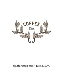 Coffee Farm or Coffee Shop Logo Template