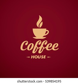 Coffee house logotype design