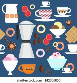 Coffee and ice cream