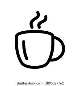 coffee icon or logo isolated sign symbol vector illustration - high quality black style vector icons