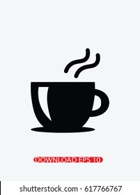 Coffee icon, Vector