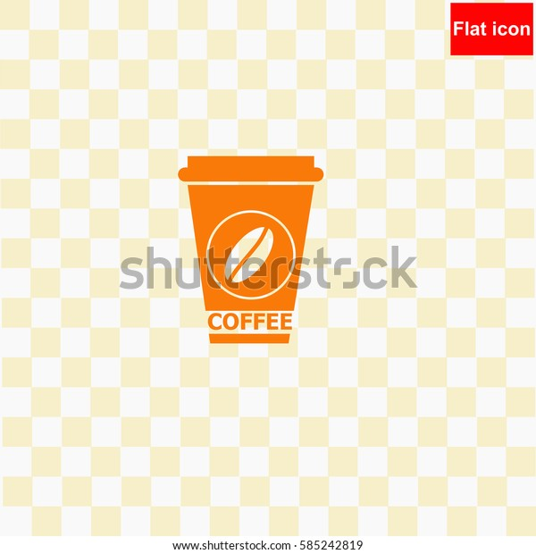 Coffee  icon Vector design.