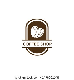 COFFEE LOGO DESIGN  VECTOR  ILUSTRATION TEMPLATE