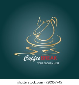 Coffee Logo design vector template