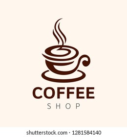 Coffee Logo template.
