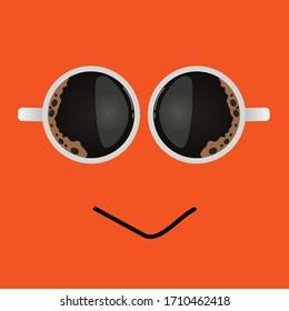 Coffee logo - vector illustration, coffee cup design