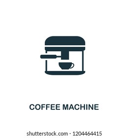 Coffee Machine icon. Premium style design from coffe shop collection. UX and UI. Pixel perfect coffee machine icon. For web design, apps, software, printing usage.