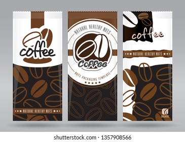 Coffee packaging set