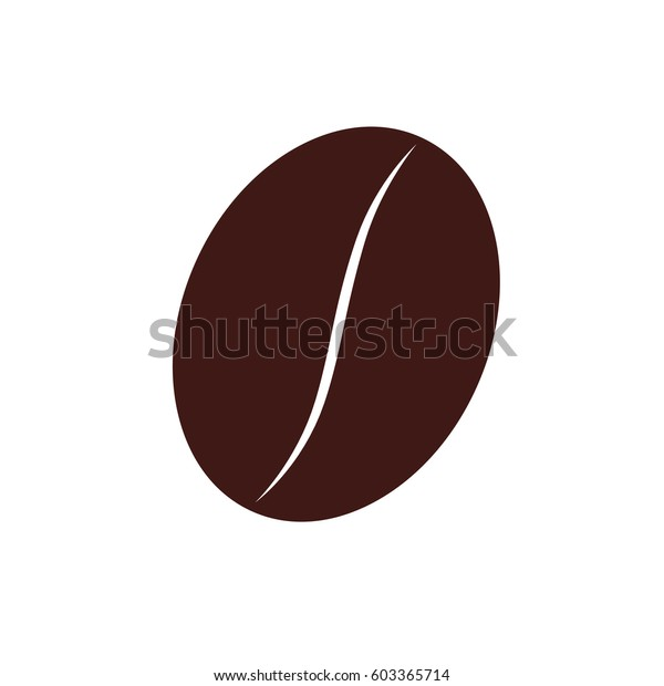 coffee seed coffee vector illustration stock vector royalty free 603365714 shutterstock
