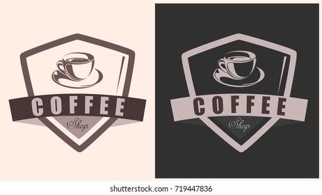 Coffee shop badge
