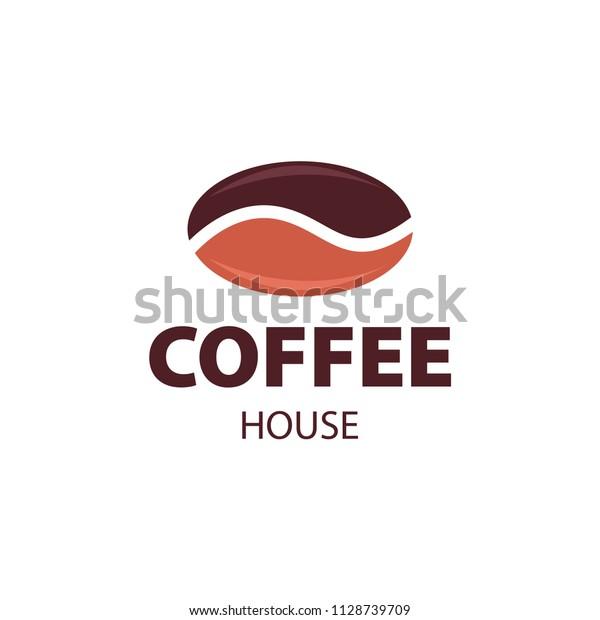 Coffee Shop Logo Design Element Vintage Stock Vector Royalty Free 1128739709