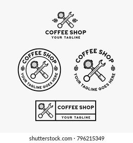 coffee shop logo design inspiration