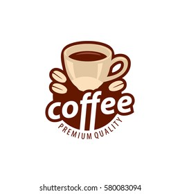 Coffee shop logo design template