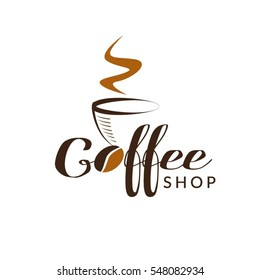 Coffee Shop Logo Sign Symbol Icon