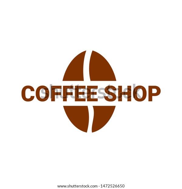 Coffee Shop Logo Vektor Modern Concept Stock Vector Royalty Free 1472526650