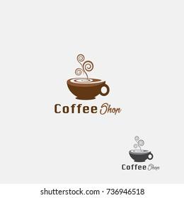 Coffee Shop, Modern Logo Coffee