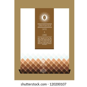 Coffee themed cover design
