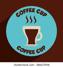 coffee time design, vector illustration eps10 graphic