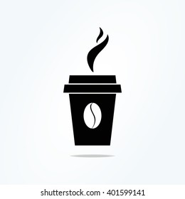 Coffee Time icon. Vector