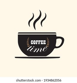 coffee time it vector t-shirt design