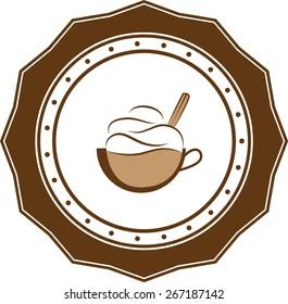 Coffee vintage retro logo business