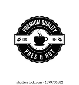 CoffeeShop vector logo template. Professional logo for coffee shop brand, cafe or restaurant