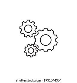 Cog icon design vector file