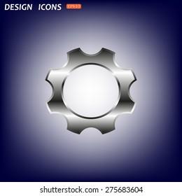 Cog Settings . icon. vector design