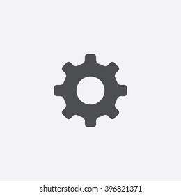 Cog wheel Icon Vector.