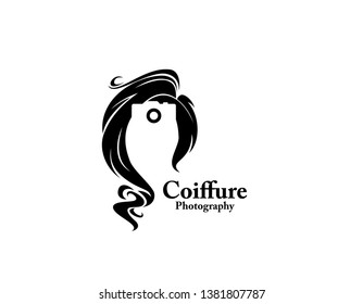 Coiffure photograph beauty logo sign