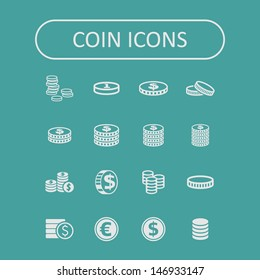 Coin icons