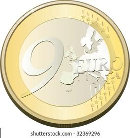 coin nine euro