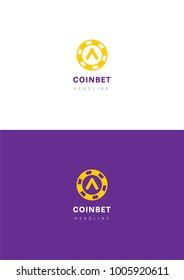 Coinbet logo template.