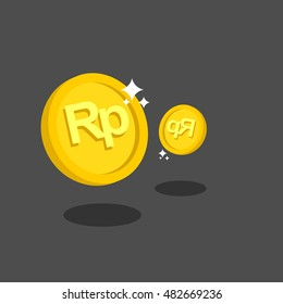 rupiah symbol images stock photos vectors shutterstock https www shutterstock com image vector coins rupiah vector illustration eps 482669236