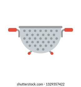 Colander flat icon.You can be used colander icon for several purposes like: websites, UI, UX, print templates, presentation templates, promotional materials, web and mobile phone apps