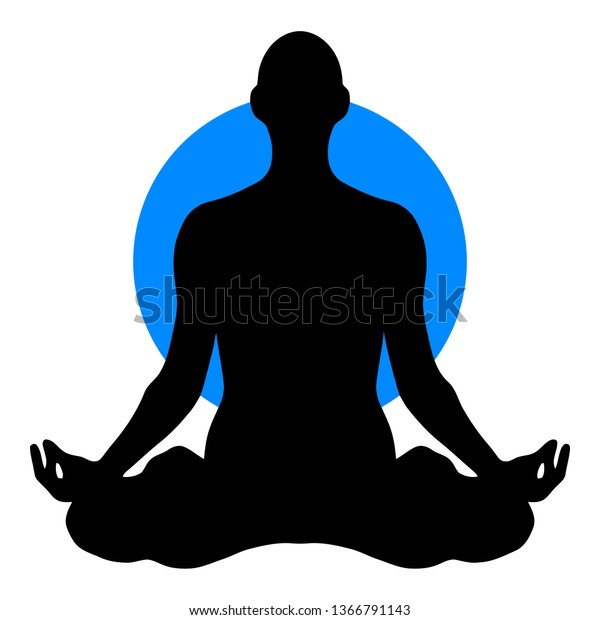 Cold Yoga Clipart Stock Vector Royalty Free 1366791143