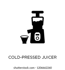 Cold-pressed juicer icon. Cold-pressed juicer symbol design from Electronic devices collection.
