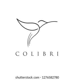 colibri logo design