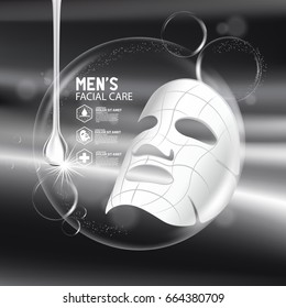 collagen solution mask sheet Skin Care Cosmetic.
