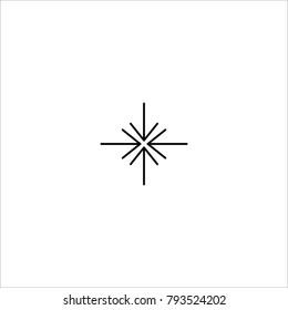 collapse vector icon