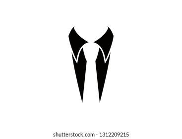 collar design silhouette
